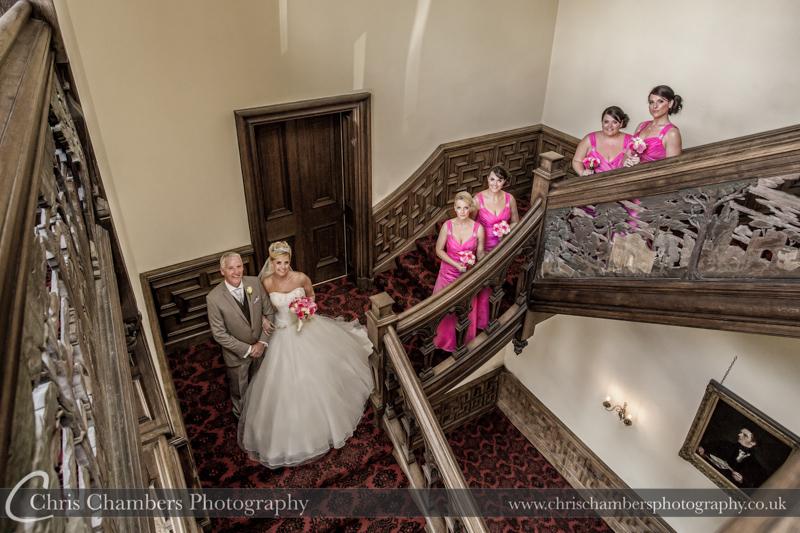 Wedding Photographs taken at Stoke Rochford Hall