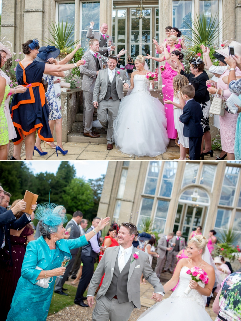 Wedding Photography taken at Stoke Rochford Hall