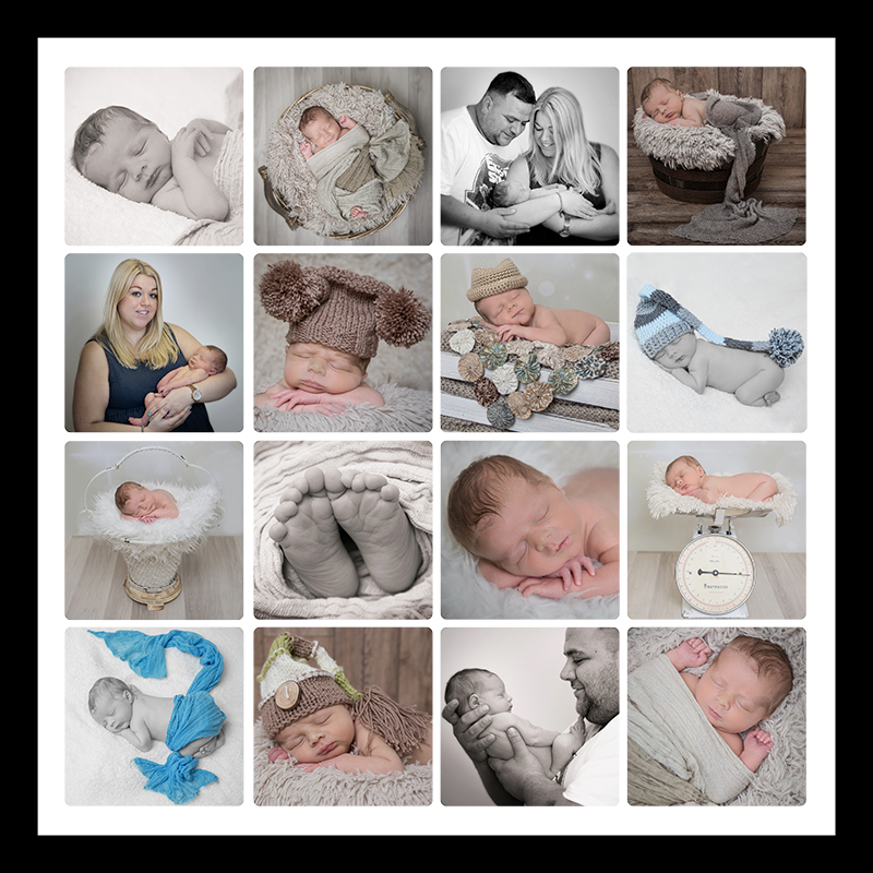 Newborn baby photographer York.
