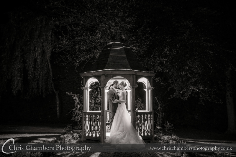 Night time wedding photography - end of night wedding photos.