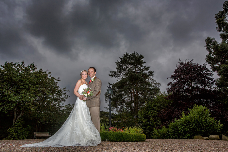 Wedding Photographs at Holdsworth House