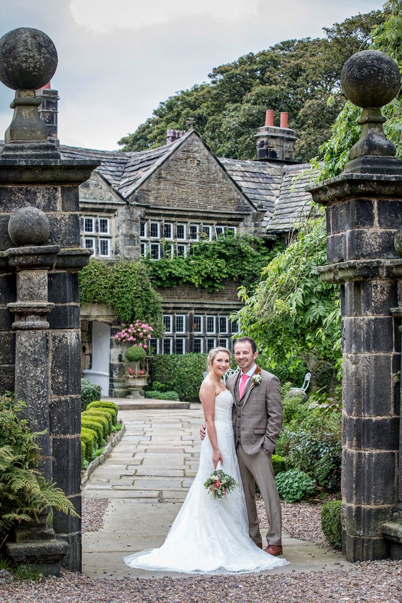 Wedding Photography taken at Holdsworth House