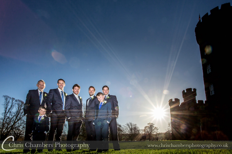 Swinton Park Winter Wedding Photographs