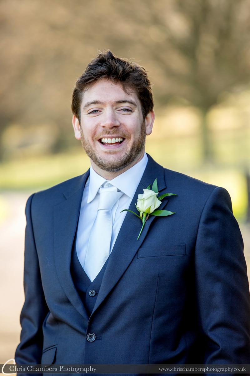 Swinton Park Winter Wedding Photographs