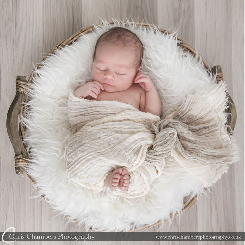 Newborn baby photography York