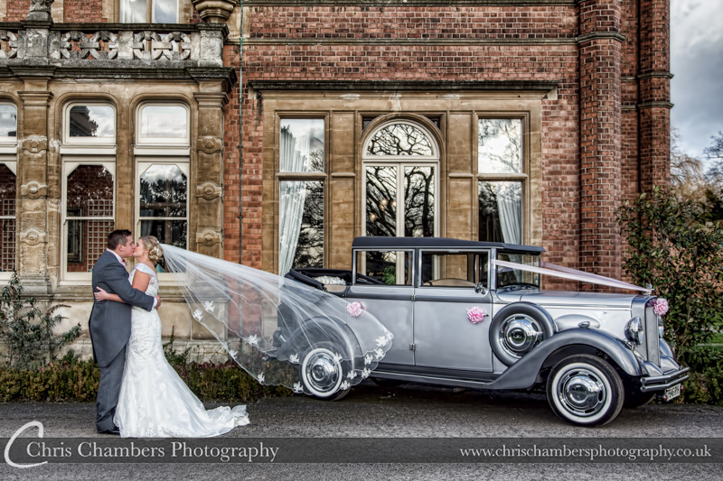 Wedding photography of Rossington Hall