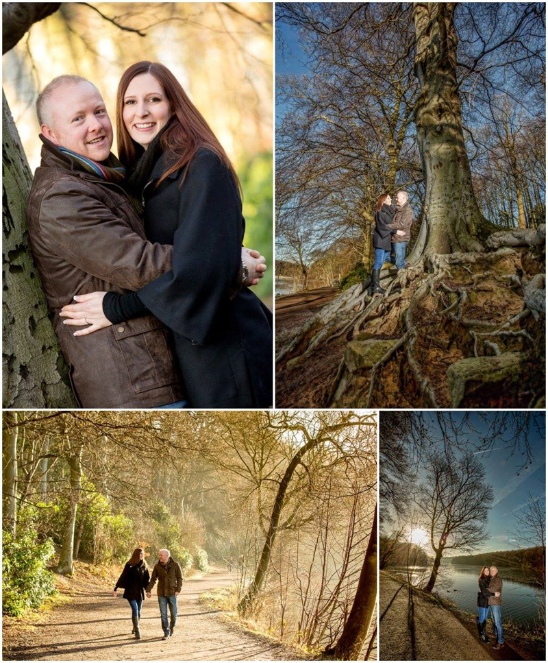 Pre-wedding Photography taken at Nostell Priory
