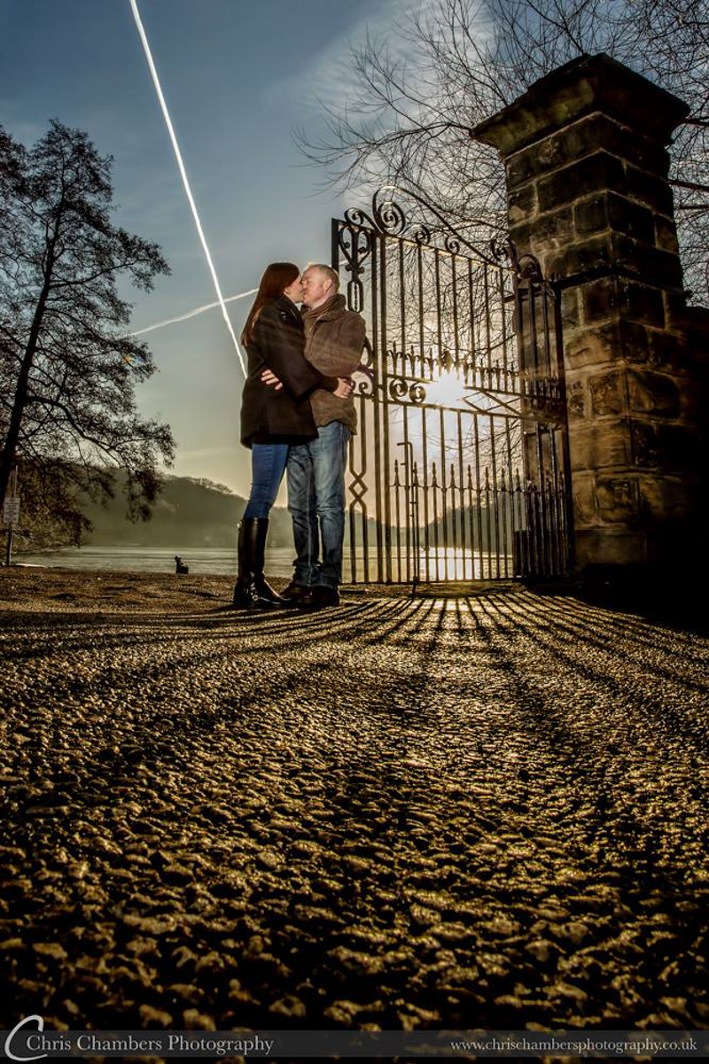 Pre-wedding Photographs taken at Nostell Priory