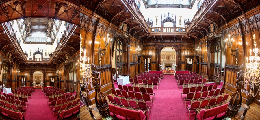 Award Winning wedding photography of Allerton Castle
