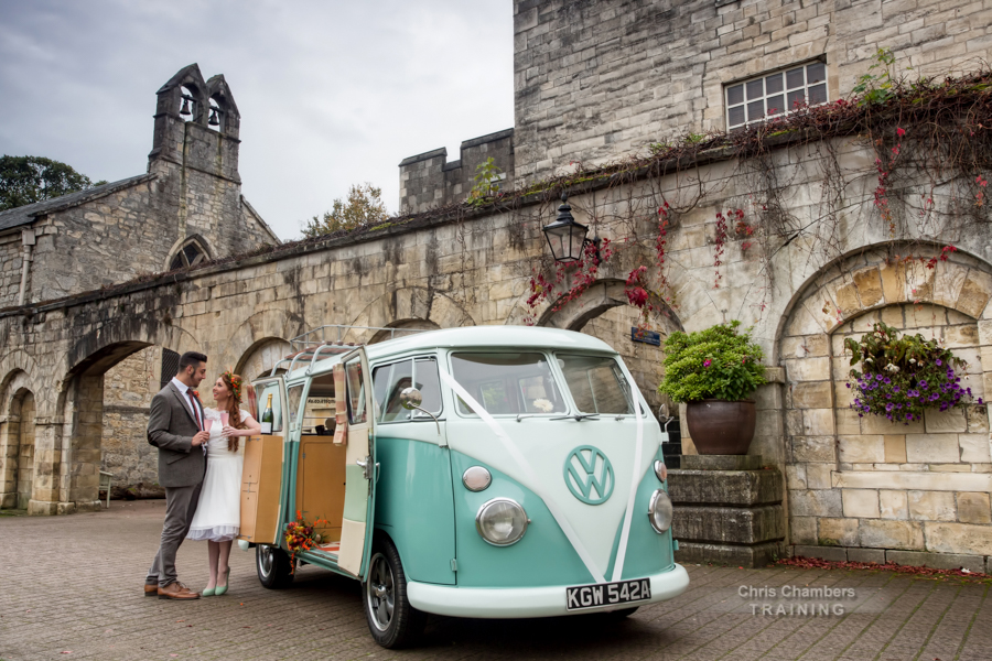Wedding Photography training day at Hazlewood Castle