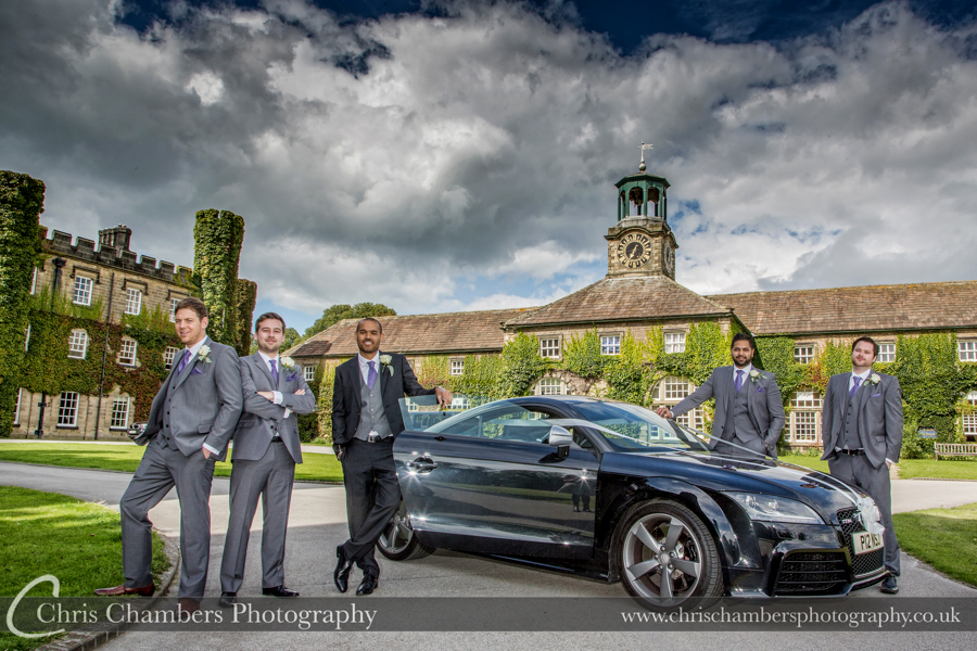 Wedding photographer at Swinton Park