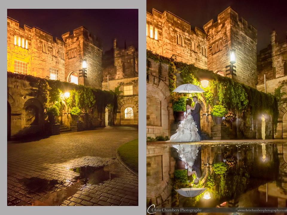 Hazlewood Castle wedding photographs, West Yorkshire weddings