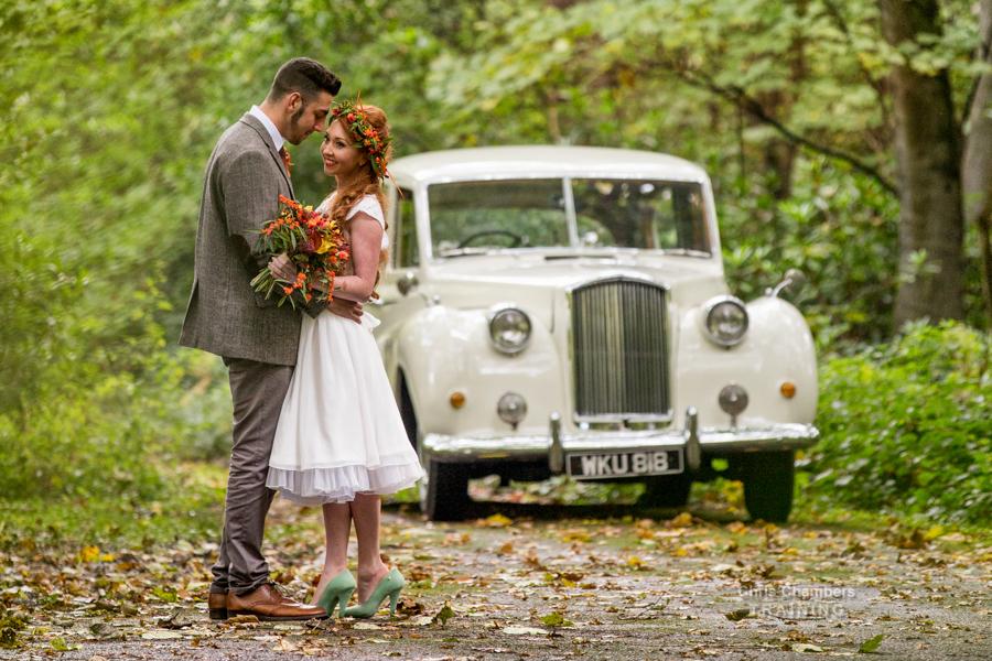 Wedding Photography training day at Hazlewood Castle