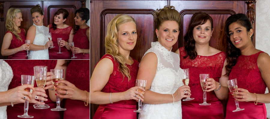Wedding photographer at Hazlewood Castle