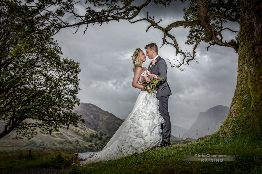 Wedding photography training course in the Lake District