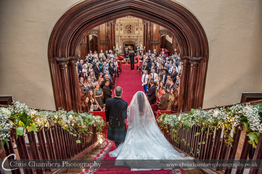 Allerton Castle Wedding photographs