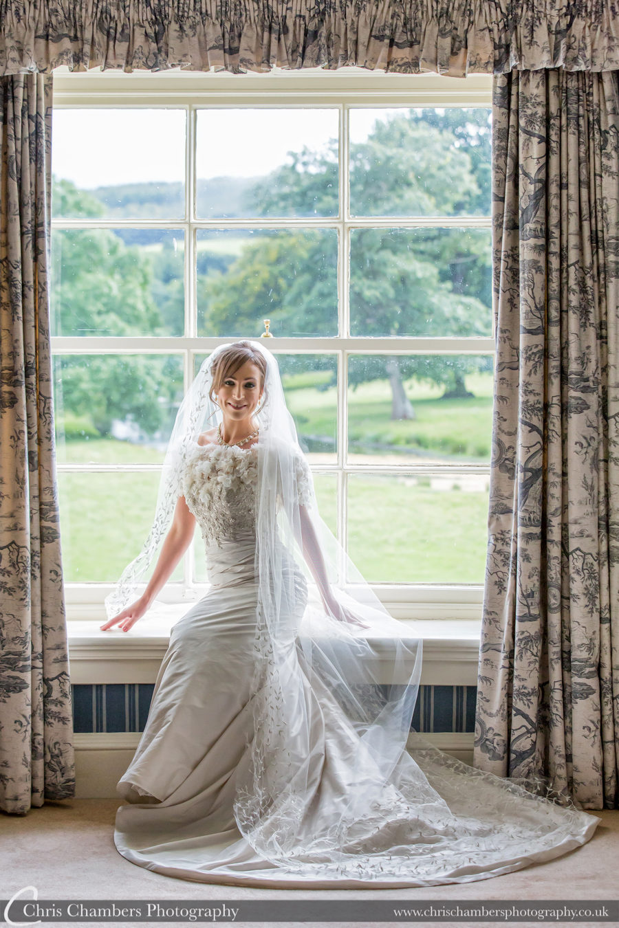 Award winning wedding photography at Swinton Park