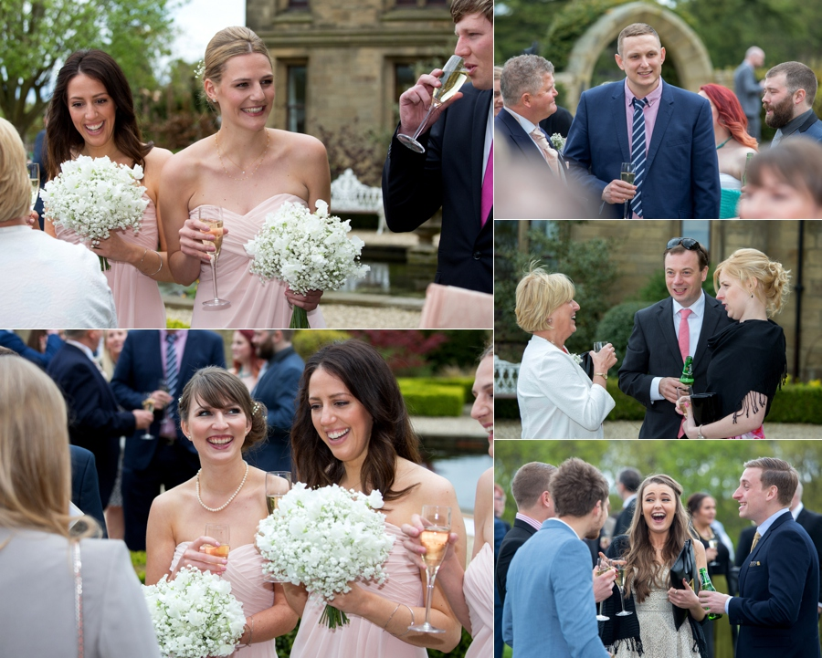 Allerton Castle Wedding photographs in North Yorkshire