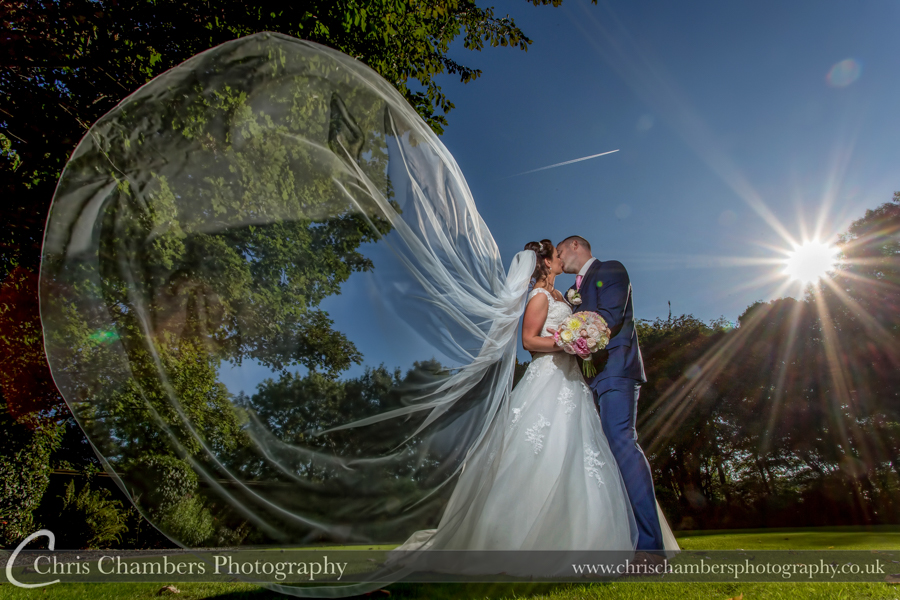 Woodlands hotel wedding photographs in Leeds