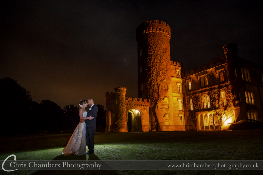 Wedding photographs taken at Swinton Park