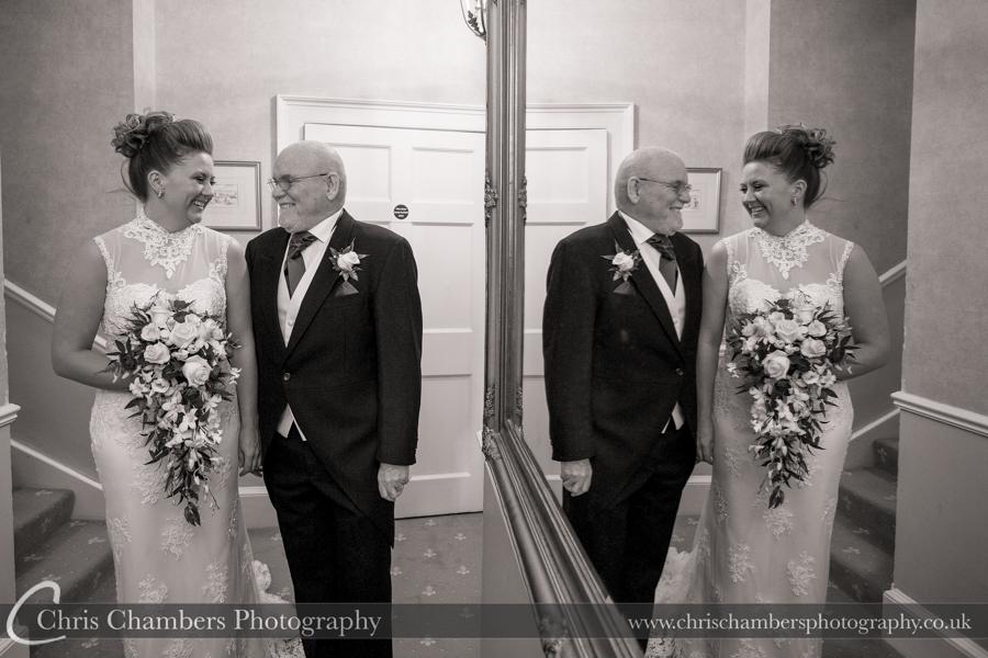 Wedding photographer at Hazlewood Castle