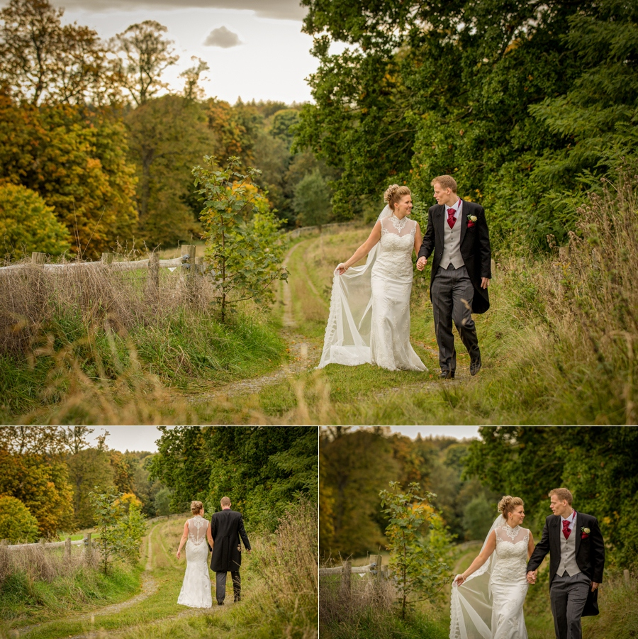 Award winning Hazlewood Castle wedding photographs