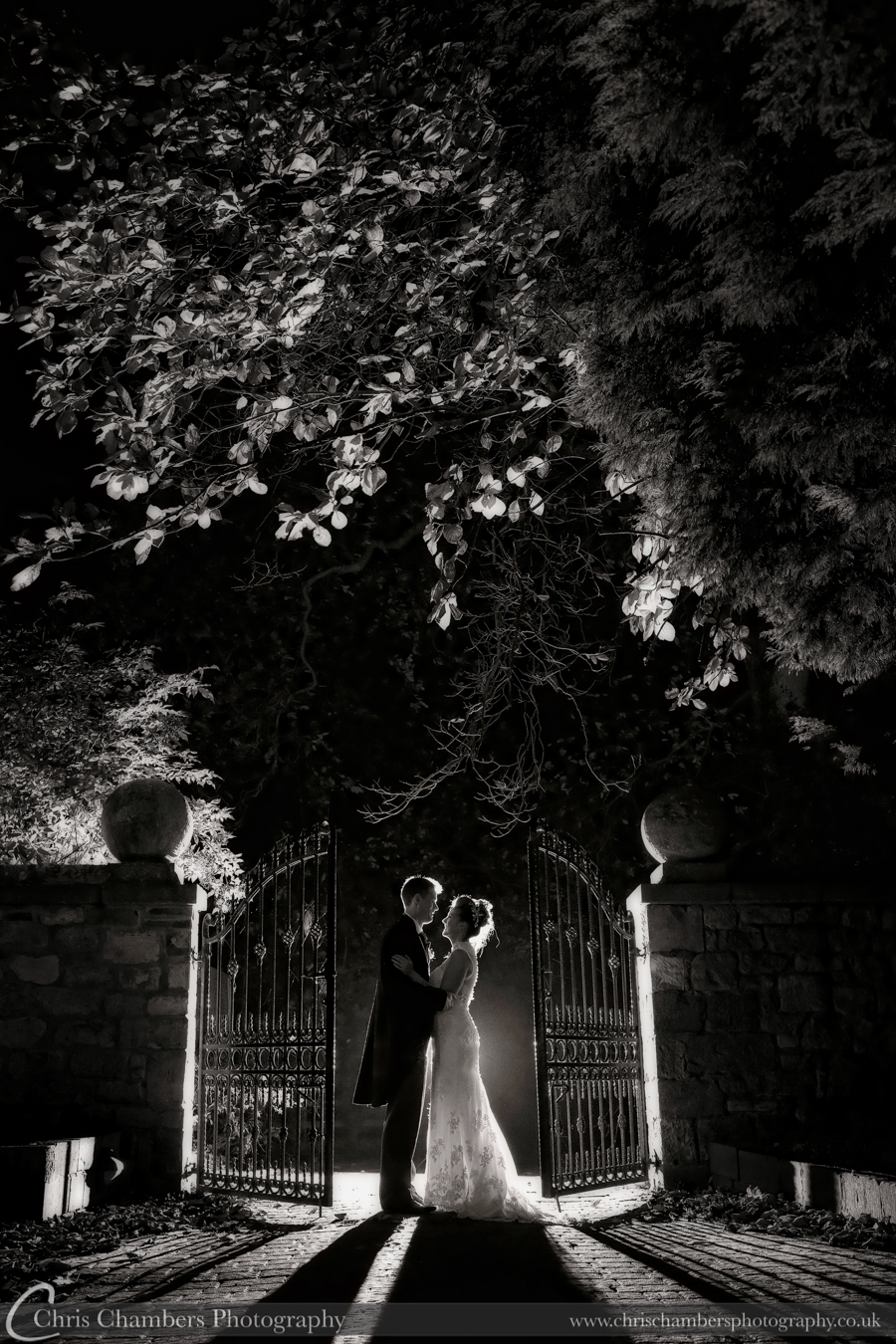 Hazlewood Castle wedding photography