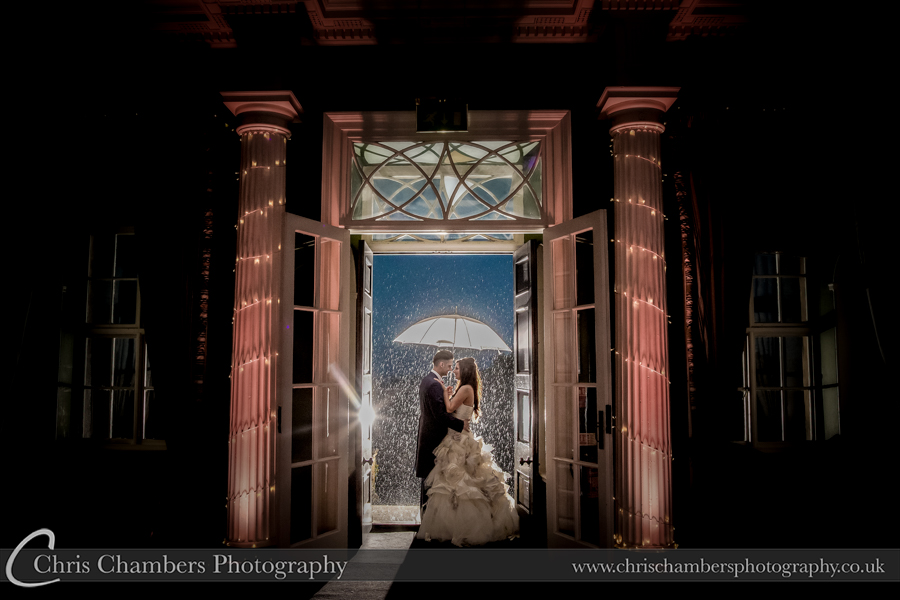 wedding photography at Hazlewood Castle