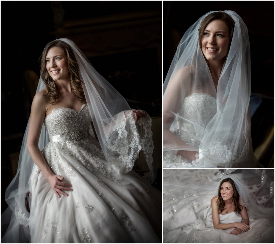 Wedding photography at Allerton Castle North Yorkshire. Award winning Yorkshire wedding photography