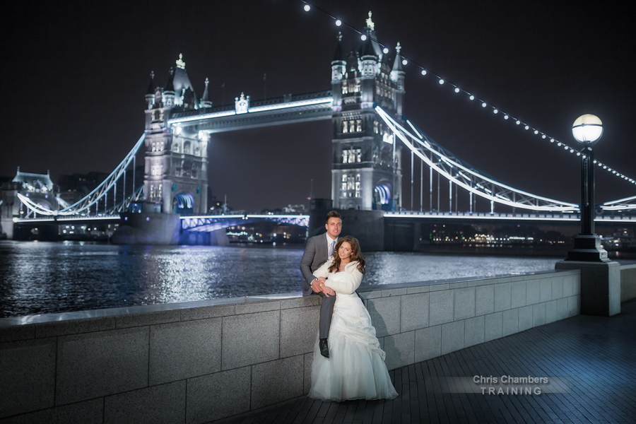 London Wedding Photography training course from award winning wedding photographer Chris Chambers