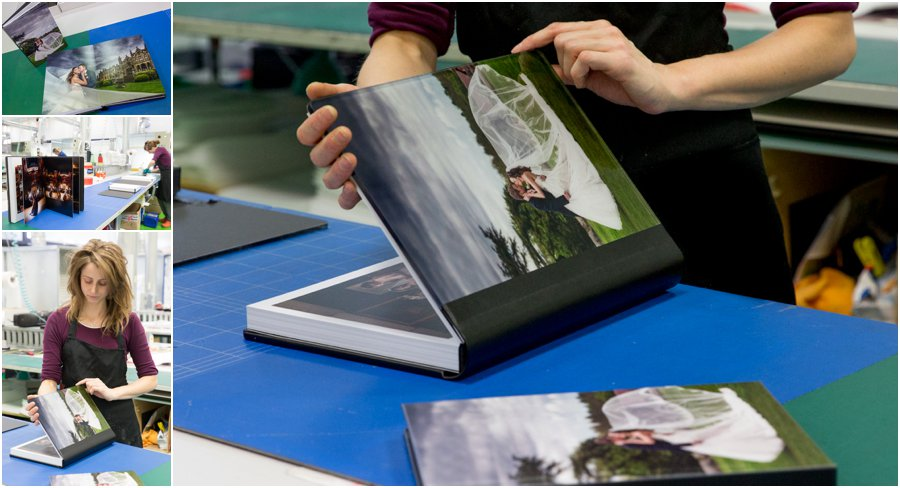 Italian Storybook wedding albums