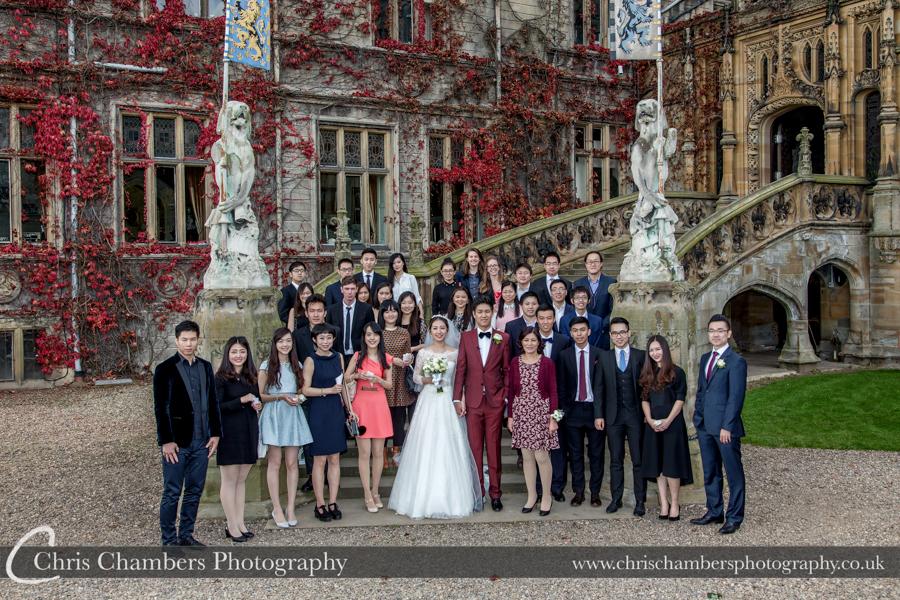 Award winning wedding photographer at Carlton Towers