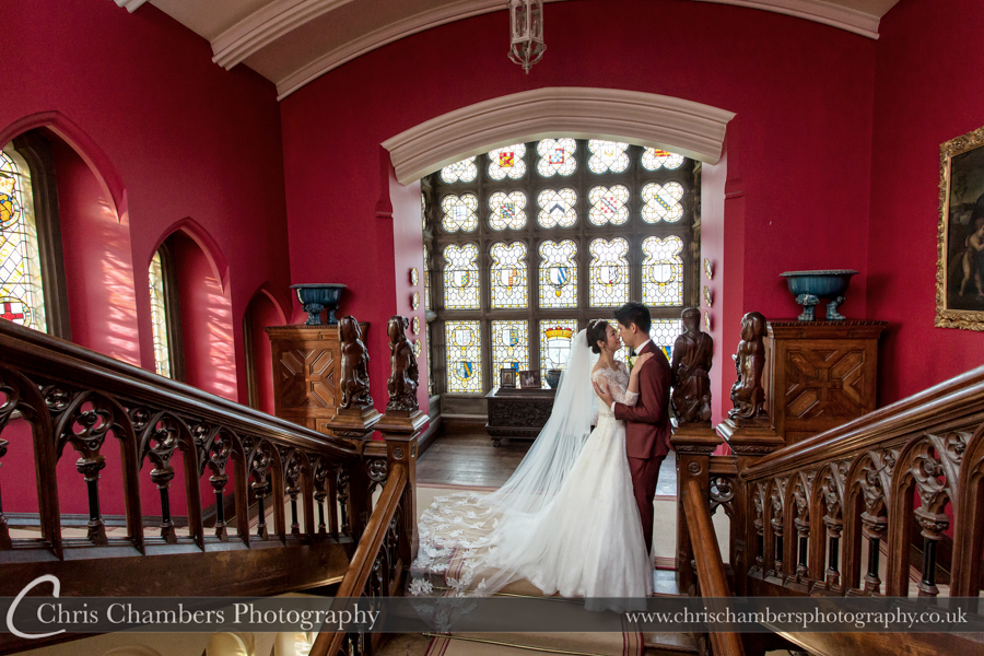 Award winning wedding photographer at Carlton Towers