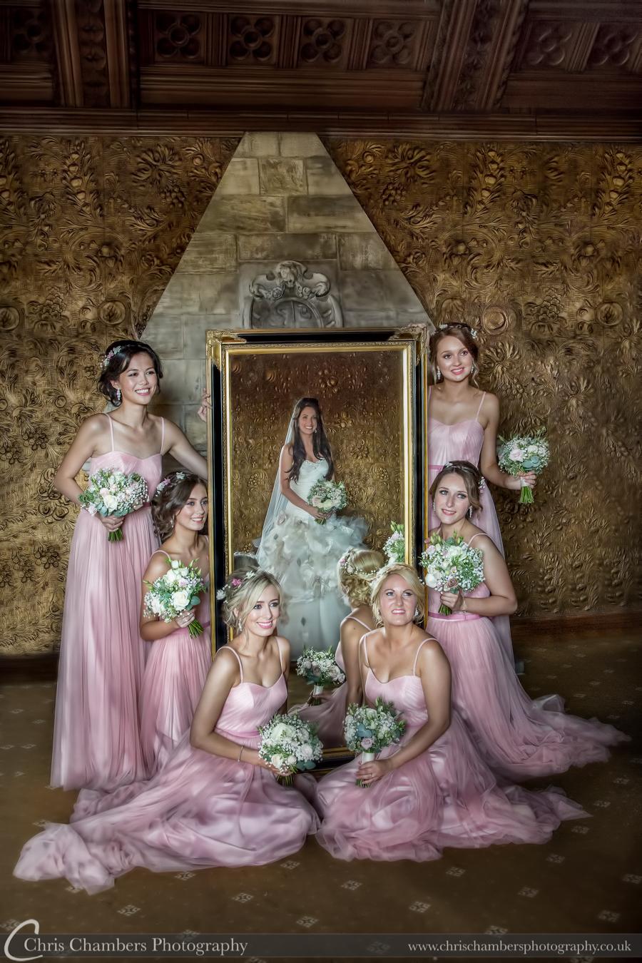 Hazlewood Castle wedding photographer, Yorkshire Hazlewood Castle wedding photography from award winning wedding photographer Chris Chambers