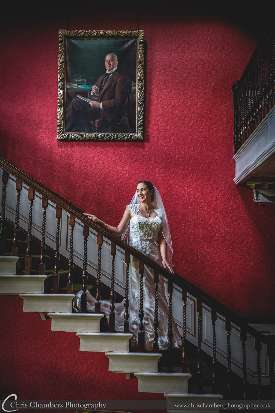 Swinton park weddings - wedding photography at swinton park from award winning photographer Chris Chambers