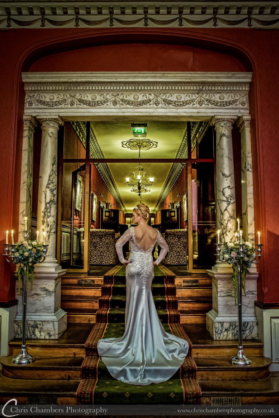 Swinton park wedding photographer. Yorkshire wedding photography at Swinton Park
