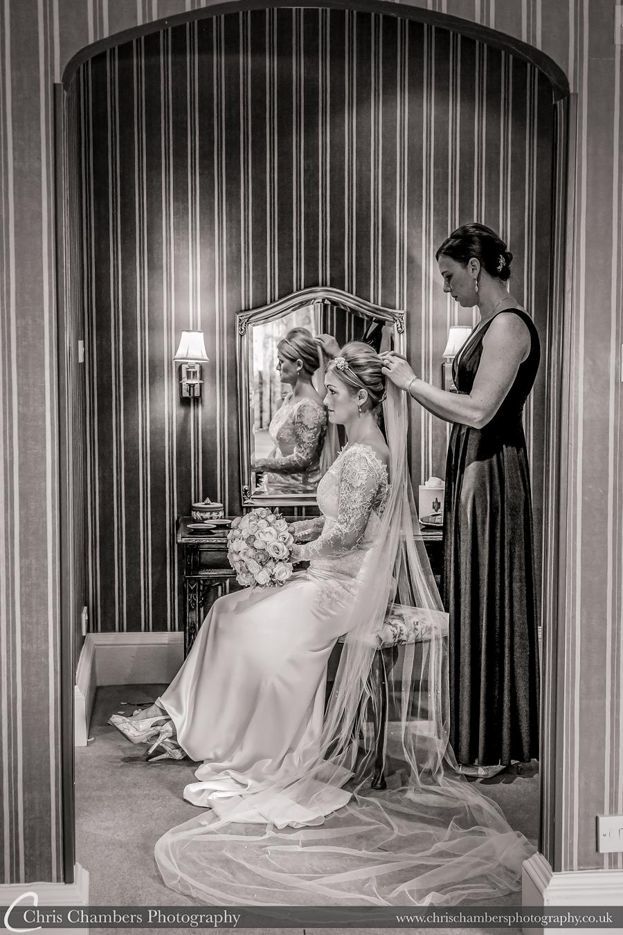 Swinton park wedding photos. Photography from award winning photographer Chris Chambers