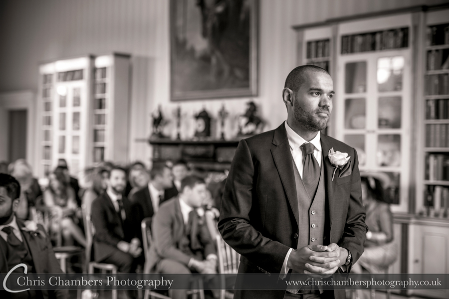 Swinton park wedding photos. Photography from award winning photographer Chris Chambers