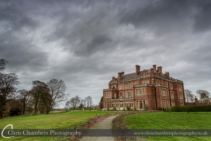 Rossington Hall wedding photographer, wedding photos at Rossington Hall