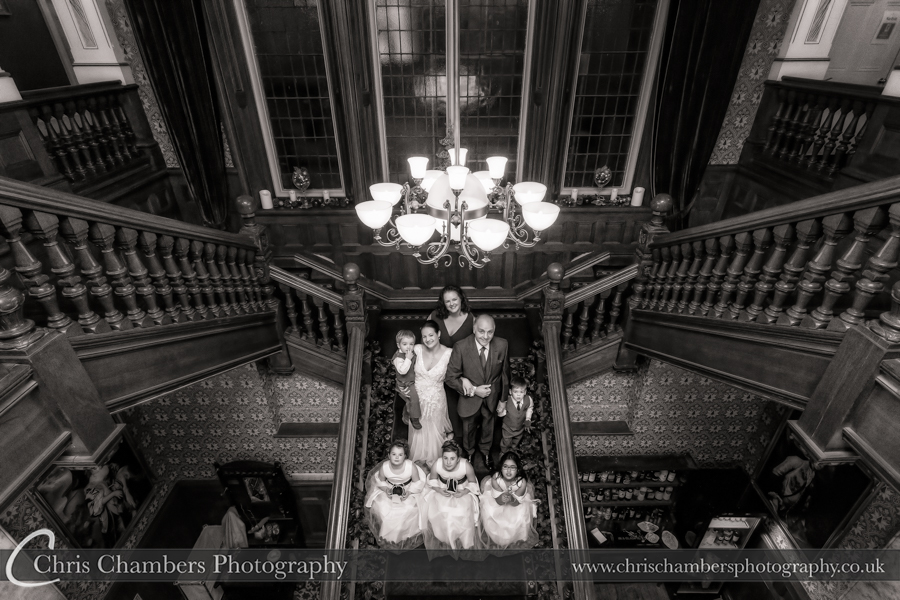 Award winning wedding photography of Rossington Hall : Doncaster Wedding Photography : Wedding photos taken at Rossington Hall