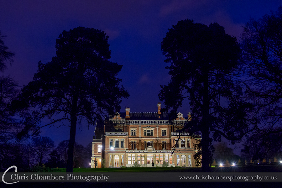 Rossington Hall wedding photography. Award winning wedding photography at Rossington Hall
