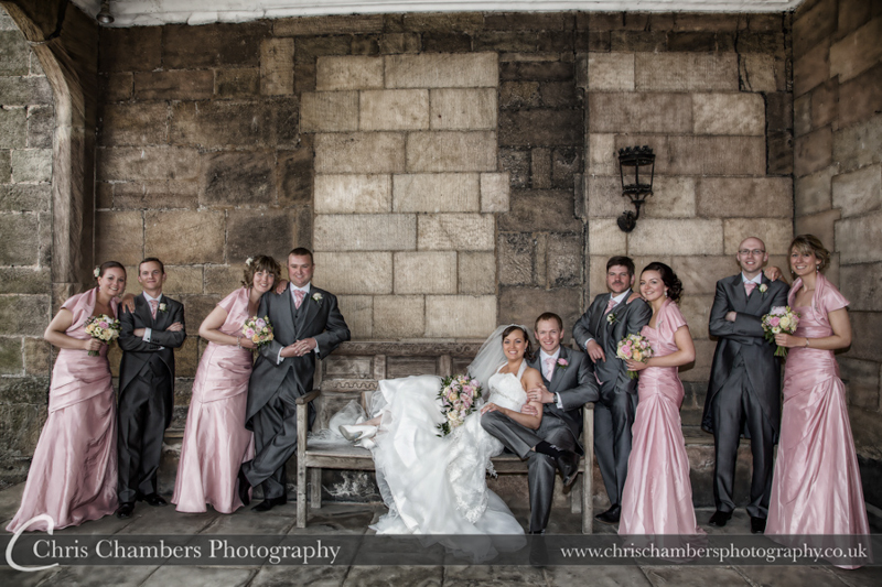 Ripley Castle wedding photography | North Yorkshire wedding photography at Ripley Castle | Award winning wedding photography in North Yorkshire | Ripley Castle wedding photography