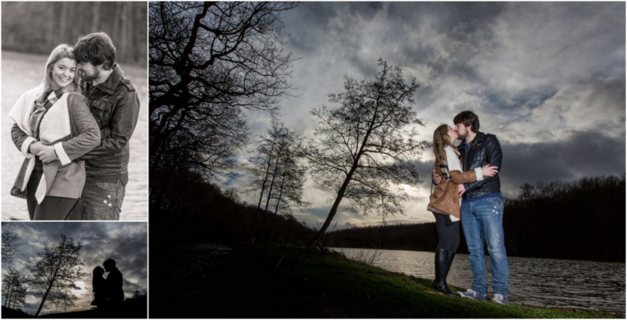 Pre-wedding photoshoot engagement photography wakefield