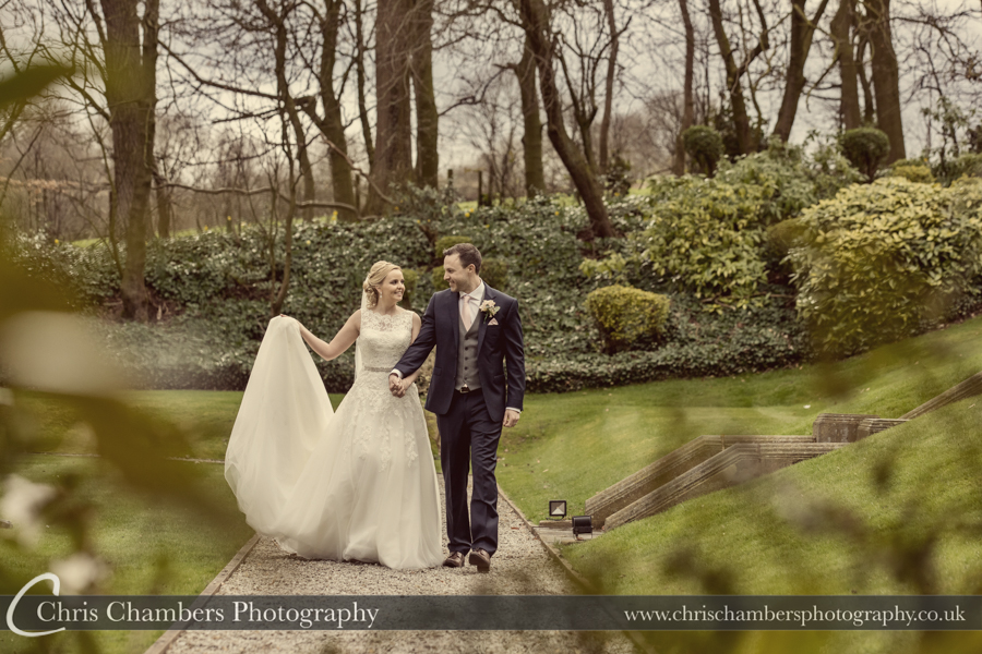 Award winning Yorkshire wedding photographer at Woodlands Hotel in Leeds, Chris Chambers wedding photography