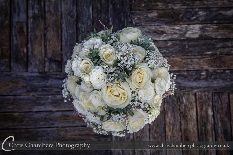 Bridal wedding photography | Award winning wedding photographer | Yorkshire wedding photographs | Wedding flower photography