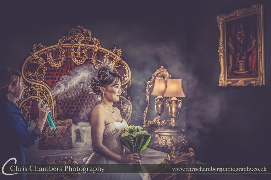 Bridal wedding photography | Award winning wedding photographer | Yorkshire wedding photographs