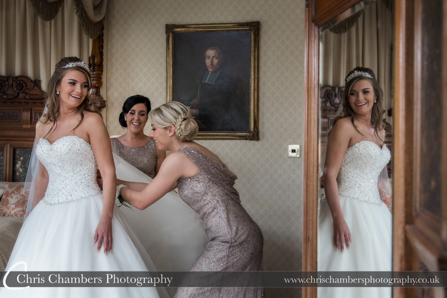 Carlton Towers wedding photography | Carlton towers bridal photography | Bridal wedding photography | Award winning wedding photographer | Yorkshire wedding photographs