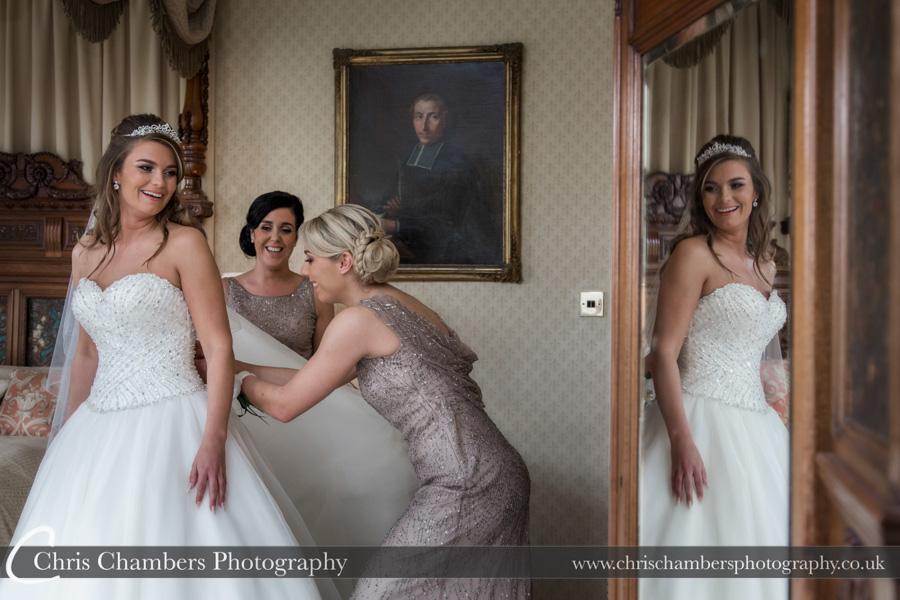Carlton Towers wedding photography | Carlton towers bridal photography | Bridal wedding photography | Award winning wedding photographer | Yorkshire wedding photographs