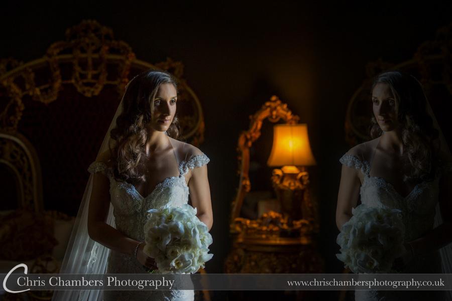 Allerton Castle wedding photography | Bridal wedding photography | Award winning wedding photographer | Yorkshire wedding photographs