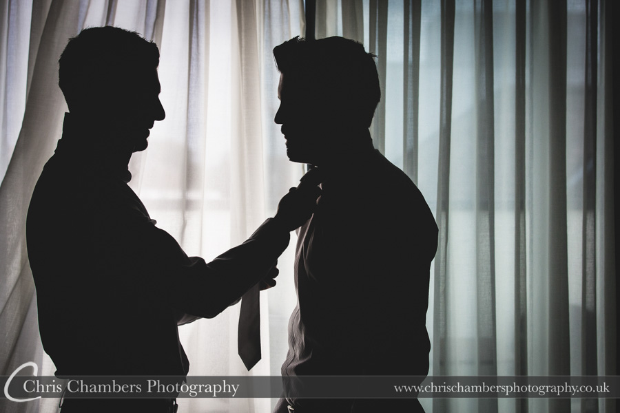 Harrogate wedding photography | Wedding photographer | Groom preparation photography | Award winning wedding photography | Groom and groomsmen wedding photographs